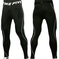 8410f09009344 Take Five Mens Compression Skin Tight Sports Pants 011 Black /Made in Korea