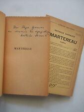 SARRAUTE Nathalie - Martereau - EO Ex SP Envoi Signé Provenance 1953 BE
