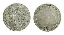 pcc1899) ROMA - Pio VI (1775-1799) - Mezzo scudo romano 1776