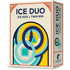 Looney Labs Ice Duo Board Game Ice Dice & Twin Win Family Friend Party Games