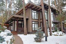 Modern Log House Kit Lh 293 Eco Friendly Wood Prefab Diy Building Cabin Home