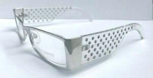 Swarovski Crystal VINTAGE Rare Glasses Optical Frame Transparent 23KT GP S200