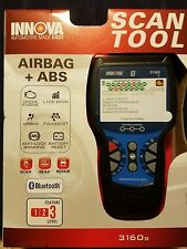 BRAND NEW! Equus INNOVA 3160 3160g ABS/SRS CanOBD2 Code Scanner with Live Data
