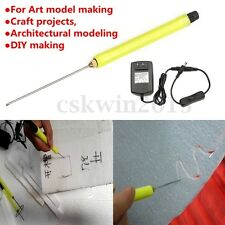 Styrofoam Foam Cutter Hot Wire Craft Electric 10cm Cutting Pen Tool w/ Adaptor
