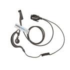 EARPIECE HEADSET G SHAPE EARHANGER PTT MIC FOR MOTOROLA DP3400 DP3600 DP4400