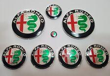 SET STEMMI,LOGHI,EMBLEMI CONVERSIONE COMPLETA X ALFA ROMEO 147,156,MITO,GTV,GT