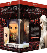 Game of Thrones Complete Seasons 1-4 NEW PAL 20-DVD Set Daenerys FUNKO Figurine