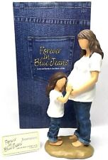 FOREVER IN BLUE JEANS 18422 EXPECTATIONS FIGURINE PREGNANT MOM & DAUGHTER NEW!