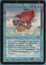Pirate Ship Alpha NM Blue Rare MAGIC THE GATHERING CARD (ID# 110162) ABUGames