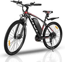 Electric Bike 26'' Mountain Bicycle 350W Adult EBike 10.4Ah Li-Battery 21 Speeds
