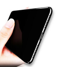 Ultra Thin Sleek Jet Black Full Cover Hard Plastic Back Case for iPhone 7/6 Plus