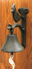 Cast Iron Wall Mount Cardinal Bell Indoor or Outdoor