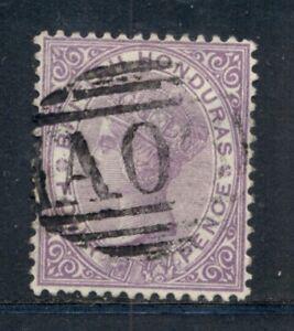 BRITISH HONDURAS 15 SG20 Used 1882 4c vio QVIC Wmk Crown CA Cat$6