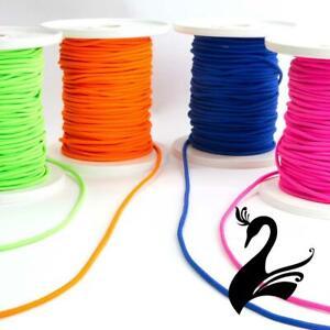 Round Elastic Rubber Cord 3mm (Price per 3m) - Sewing Craft DIY