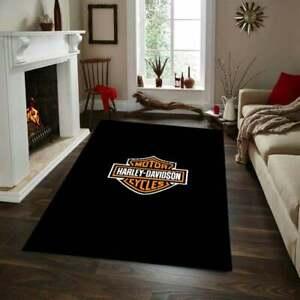 Harley Davidson 31 Rug, Fan Carpet, NonSlip Floor Carpet,Teen's Rug,Area Rug,