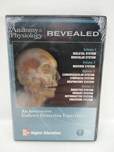 Anatomy & Physiology Revealed Vol. 1-4 (CD-ROM, 2007) NEW SEALED