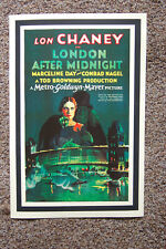London After Midnight Movie Lobby Card poster Lon Chaney