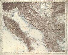 Antique maps, Italy & Dalmatian Coast