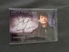 Ghost Whisperer Seasons 3 & 4 Auto Autograph Card CS Christoph Sanders