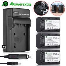 NP-FH50 Battery + Charger For Sony DSC-HX1 HX100V HX200V Alpha A390 A330 A230