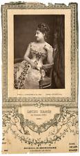 Lemercier, Paris, actrice, Louise Massin Vintage Print, vintage photoglyptie