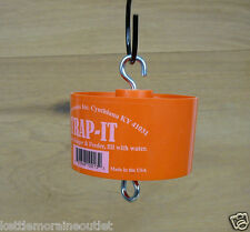 Trap-It Ant Trap Orange Ant Moat for Oriole Bird Feeders Fill with Water No Ants