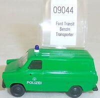 Ford Transit Police Transporter Essence imu Modèle Européen 09044 H0 1:87 Ovp #