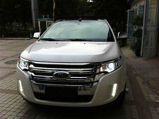 2x LED DRL Driving Daytime Running Day Fog Lamp Light For 2012~2013 Ford EDGE