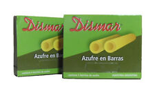 SULFUR STONES (AZUFRE BARRAS), 5 per pack x 2 packs (ARGENTINA)