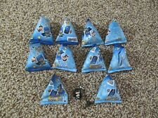 LOT OF 10 NEW DC COMICS CELL PHONE CHARMS UNOPENED 8 DIFFERENT TO COLLECT