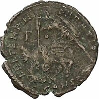 CONSTANTIUS II Constantine the Great son Ancient Roman Coin Battle Horse i46077