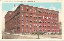 General Office, Bethlehem Steel Co. in Bethlehem PA Postcard