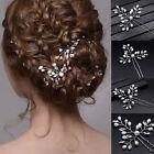Wedding Bridal Pearls Crystal Clips Comb Hair Pins Bridesmaid Hair Accessories