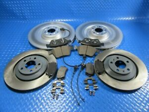 Bentley Continental Gt GTc Flying Spur front  rear brake pads rotors  #5800