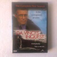 Da Vincis Inquest - Season 1 (DVD, 2007, 4-Disc Set) LIKE NEW Discs Mint