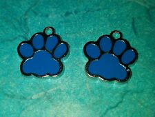 Pendant Paw Print Charm Bear Paw Charm Dog Charm Dog Paw Charm Wildcat Charm UK