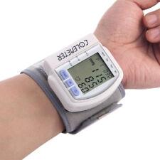 Digital LCD Handgelenk Blutdruckmessgerät Pulsmessung Blutdruck Messgerät