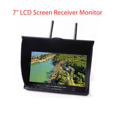 """EACHINE LT-5802S FPV Monitor 7"""" 5.8Ghz 40CH Dual Diversity Receiver IPS Screen"""