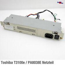 Toshiba notebook portátil Mobile equipo t3100e pa8038e fuente de alimentación PSU etx-800f7e