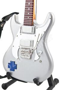 Miniature Guitar ESP RZK-1 Richard Z Kruspe RAMMSTEIN & Strap