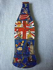 1 coca cola Disney londres puzzle pin bottle Limited Edition 50