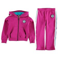 Converse All Star Tracksuit Hoody / Joggers Infant Girls Pink 6-9 Months