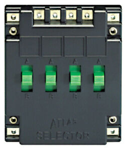 Atlas Electrical Track Power Selector with Four SP/DT Switches (HO/N Scale)