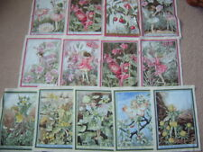 1 Flower Fairy Fairies Cotton Fabric Panel ~ 25 x 18cm ~ Mixed Designs M Miller