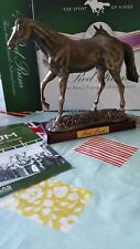 Atlas Editions Red Rum Horse Racing figurine