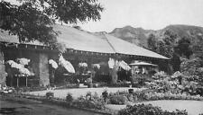 Honolulu Hi Waioli Tea Room Salvation Army Girls Home Oahu Postcard ca 1930s