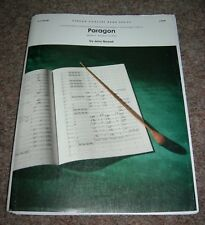 Concert band sheet music Paragon by Jerry Nowak Grade 3