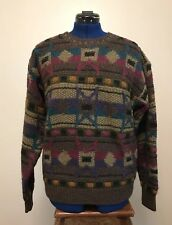 100% Wool KNIT Heavy sweater SALE! Limited Edition fisherman -BOSTON TRADERS