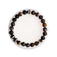 10 mm Sulemani Hakik Bracelet DC Bead Reiki Healing Crystal-Stone Protection.. |