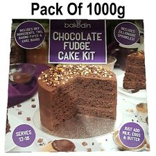 Bakedin Chocolate Fudge Cake -Includes Kit & Zillionaire Sprinkles Quick 1000g